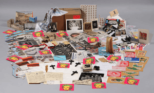 Inside Warhol Time Capsule 526. Photograph courtesy of warhol.org