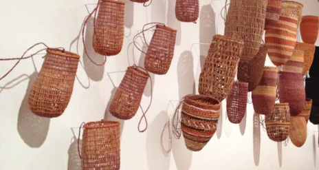 In Australia I saw amazingexamples of weaving and basket making affirming for me that function is true beauty.