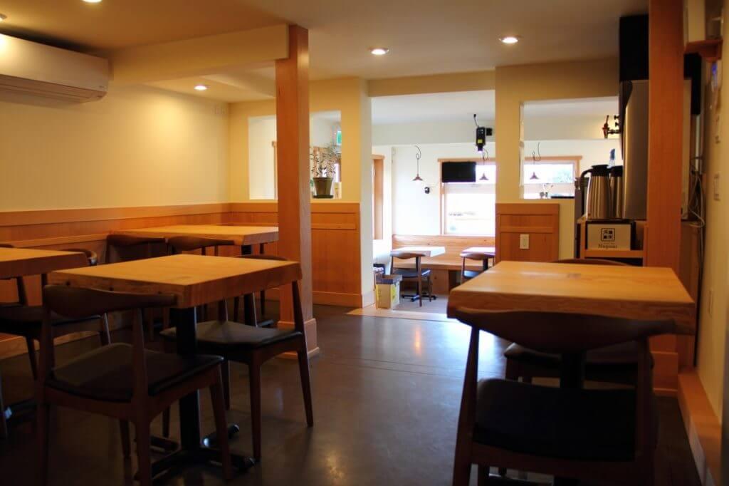 beautiful interior designed sushi bar on sunshine coast
